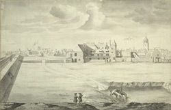 A Prospect of God's House from Wimbledon's Bastion at Portsmouth 1717